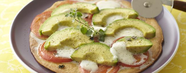 ベリッシモ風アボカドのピザ