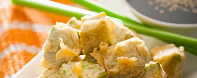 アボカドの一口天ぷら