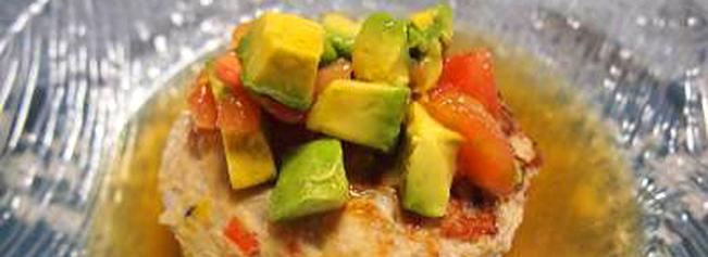アボカドとたっぷり野菜のスープ煮