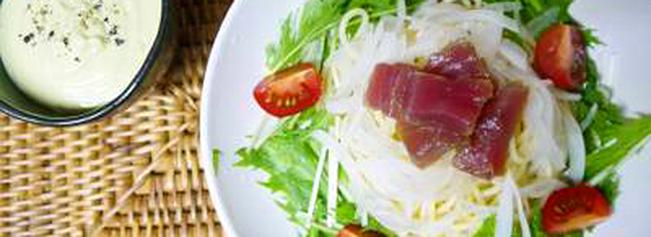 アボカドつけ麺