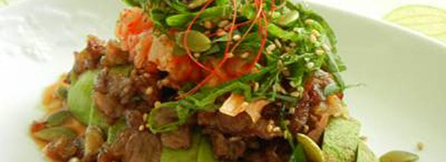 アボカドキムチサラダ