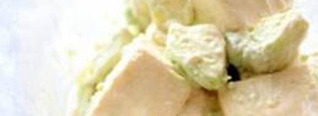 アボカドマヨわさび豆腐