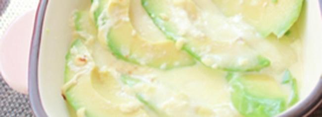 モッツァレラチーズとアボカドのグリル焼き