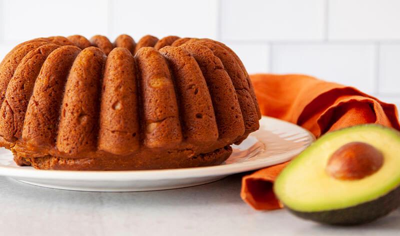 アボカドパンプキンスパイスケーキ